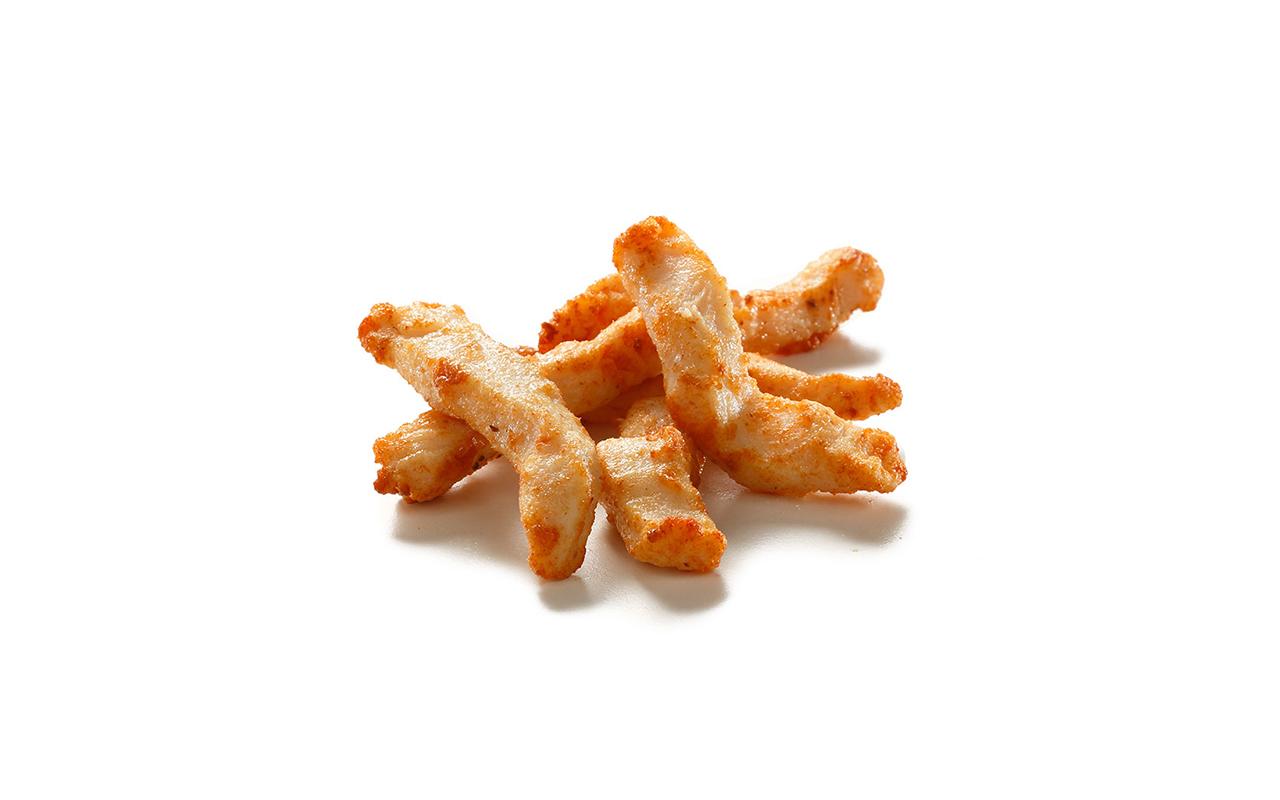 Flash Fried Chicken Breast Strips